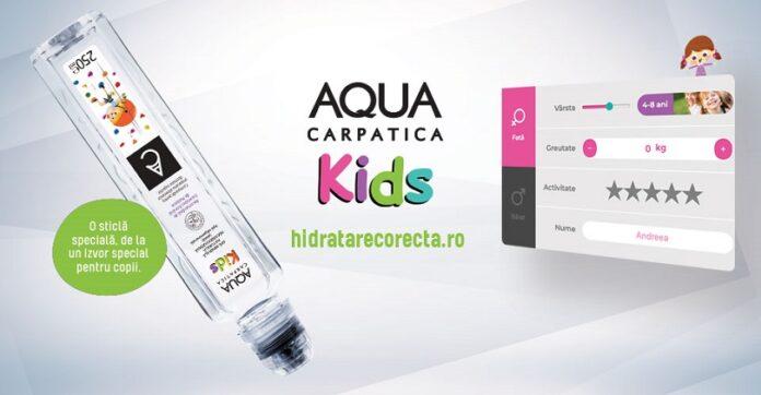 AQUA Carpatica a lansat platforma online hidratarecorecta.ro